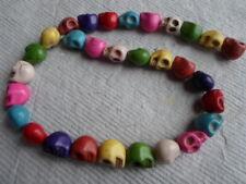 Filamento de dulces Calaveras Howlite en varios colores