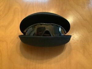 Oakley M Frame Sunglasses WITH CUSTOM ZIPPER CLOSE CARRY CASE