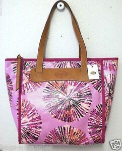 Fossil Key Per Shopper Pink Multi ZB5896664 NWT