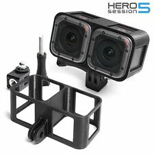 3D Frame Mount + Tripod for GoPro Hero 5 Session Accessories Adapter- USA Seller