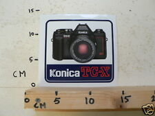 STICKER,DECAL KONICA TC-X CAMERA