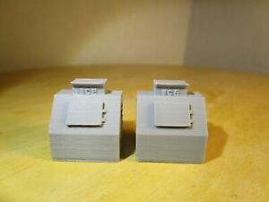 "(2) "" S  SCALE "" ICE COOLER,  ICE BOX   3D PRINTED L@@K  1/64  1:64"