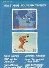 847 - 8 Arctic Islands / Winter Olympics - CPO Stamp Issue Poster