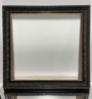 "Aesthetic Art Deco Victorian Design Wood Picture Frame Fits 17 1/4"" x 18 1/2"""