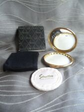 Vintage Stratton Powder Compact with Sleeve and Box