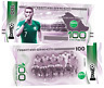 New! 100 rubles commemorative banknote Saudi Arabia series-2018 FIFA world Cup