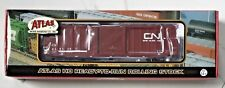 ATLAS 1/87 HO CANADIAN NATIONAL 50' PERCISION DESIGN BOX CAR RD #416113 FS1369-1