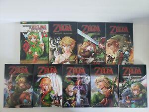 Viz The Legend of Zelda Twilight Princess Manga Books #1-8 English + Ocarina #1