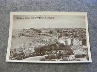 Kent RP postcard -- Madeira Walk & Harbour -- Ramsgate Thanet