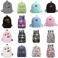 Girls Women Fashion Canvas Travel Shoulder Backpack School Rucksack Bags Satchel
