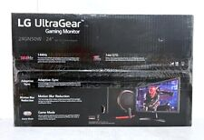 LG 24'' 24GN50W-B UltraGear FHD 144Hz Gaming Monitor - READ DESCRIPTION