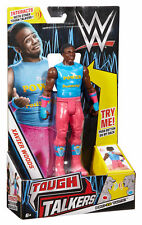 WWE Tough Talkers Xavier Woods Action Figure New