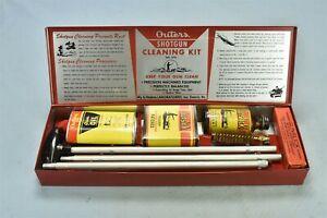 Vintage OUTERS SHOTGUN CLEANING KIT #478 METAL CASE CARDBOARD SLEEVE #02040