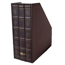 Storage Magazine Rack Storage Brown Magazine File - Book Storage Organizer