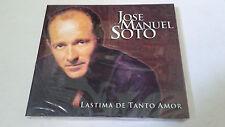 "JOSE MANUEL SOTO ""LASTIMA DE TANTO AMOR"" CD 12 TRACKS DIGIPACK"