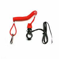 Câble coupe circuit cordon de sécurité au Guidon Dirt Moto