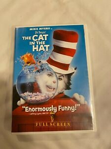 Dr. Seuss  The Cat In The Hat  w/Mike Myers  (DVD, 2004)  Fullscreen