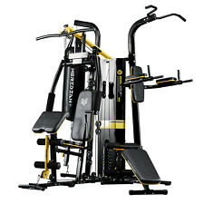 XStrength M6 Multi Station Home Gym Machine With Punching Bag Workout Fitness