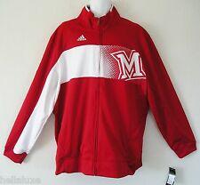Adidas MIAMI UNIVERSITY REDHAWKS SIDELINE PLAYER WARM UP Track jersey Jacket~2XL