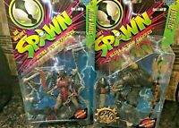 New 1996 Todd McFarlane's Spawn Ultra-Action Figures Series 5 - Card on Back