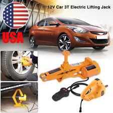 3 Ton 12V DC Automotive Electric Jack Lifting Car SUV Emergency Equipment