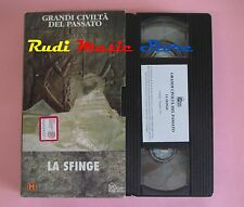 film VHS cartonata GRANDI CIVILTA' DEL PASSATO LA SFINGE 1996 H&W  (F38) no dvd