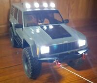 ⚡ Axial SCX10 Traxxas TRX-4 1/10 Scale R/C Crawler Super Bright LED Light Set  ⚡