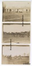 Vintage 1920-30s College Football Game Photo Lot #3 - 6 pcs - Brown Bros