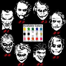 Joker Vinyl Decal Sticker Car Window Design Laptop Mastermind Batman Usa Seller