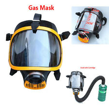 Full Face Respirator Safety Painting Spray Chemical Gas mask 40mm Connection
