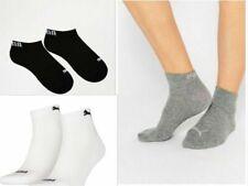 Puma Socks For Men For Womens White 2-pack Bodywear Logo Free Shipping