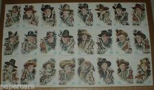 John Ford 24 Famous Western Cowboy Movie Star Poster Vintage 1973 John Wayne ++