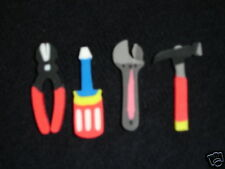 Lot of 16 Hand Tools Novelty Erasers Birthday Party Favor Student Reward