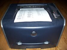 Dell 1700N - Laserprinter USB + parallel LOW PAGECOUNT