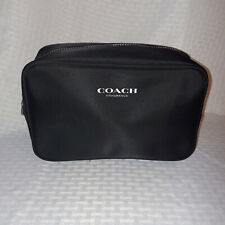 Coach Fragrance Black Toiletry Bag