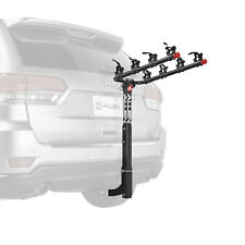 """4-Bike Hitch Mounted Bike Rack Bicycle Carrier Car Truck 2"""" Receiver Travel New"""