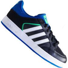 Chaussures noirs adidas en cuir pour garçon de 2 à 16 ans