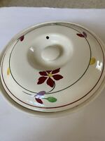 Blue Ridge Southern Potteries Small Flower Antique Leaf Cover Vegetable Bowl