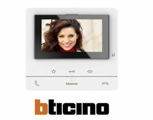 BTICINO VIDEOCITOFONO 2 FILI VIVAVOCE COLORI CLASSE 100 V16B 344652 SOLO MONITOR