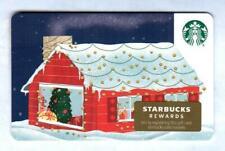 STARBUCKS Christmas Cottage 2019 ( 6171 ) Gift Card ( $0 )