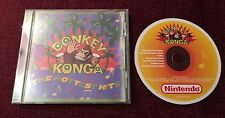 Donkey Konga: The Hottest Hits (Nintendo Soundtrack Series) CD Rare