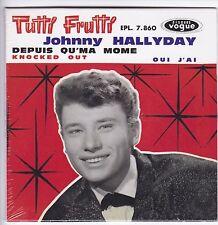 CD 4  titres JOHNNY HALLYDAY Tutti frutti (vogue) Format 13,5 x 13,5 cm