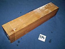 Nussbaum Kantel drechseln schreinern schnitzen  280 x 55 x 55 mm   Nr.574