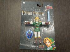 Zelda: Ocarina of Time 64 Collectible Bendable Keychains Link 1998