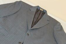 BROOKS BROTHERS Gray Striped Suit 42 R Wool Blend