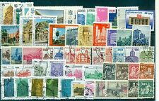 ARCHITECTURE - Lot d'environ 50 timbres