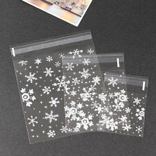 New Clear Bakery Cookie Biscuit Jewelry Candy Bags for Party Favour Package Bags
