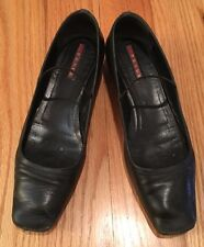 Authentic Prada Mary Jane Shoes.  Size 37.  Gorgeous!  Napa Sport Nero.