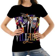 New Disney Villains Womens T-Shirt Tee Size S M L XL 2XL
