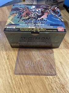 SEALED Booster Box Digimon Card Game Ver.1.5 Version English